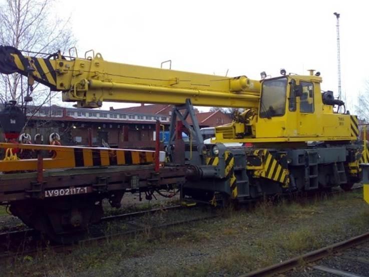 Кран железнодорожный